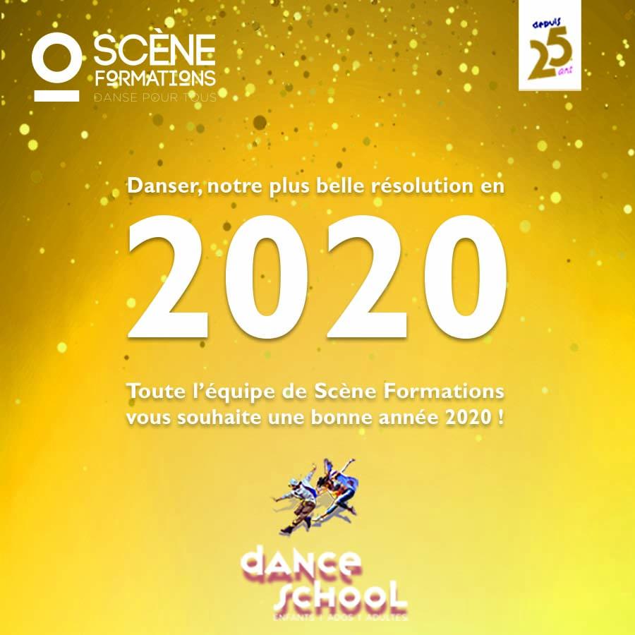 Bonne année 2020, voeux 2020